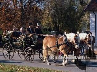 Bild Leonhardiritt Pferdekutsche