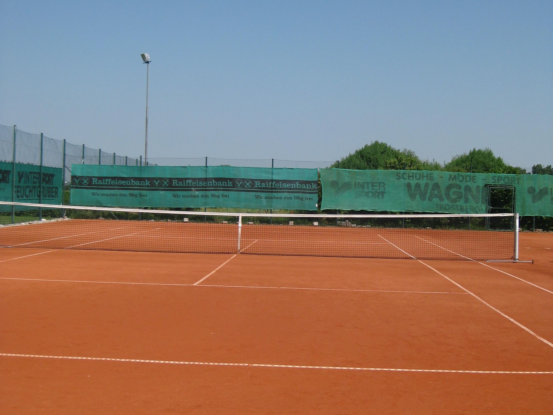 Bild des Tennisplatzes