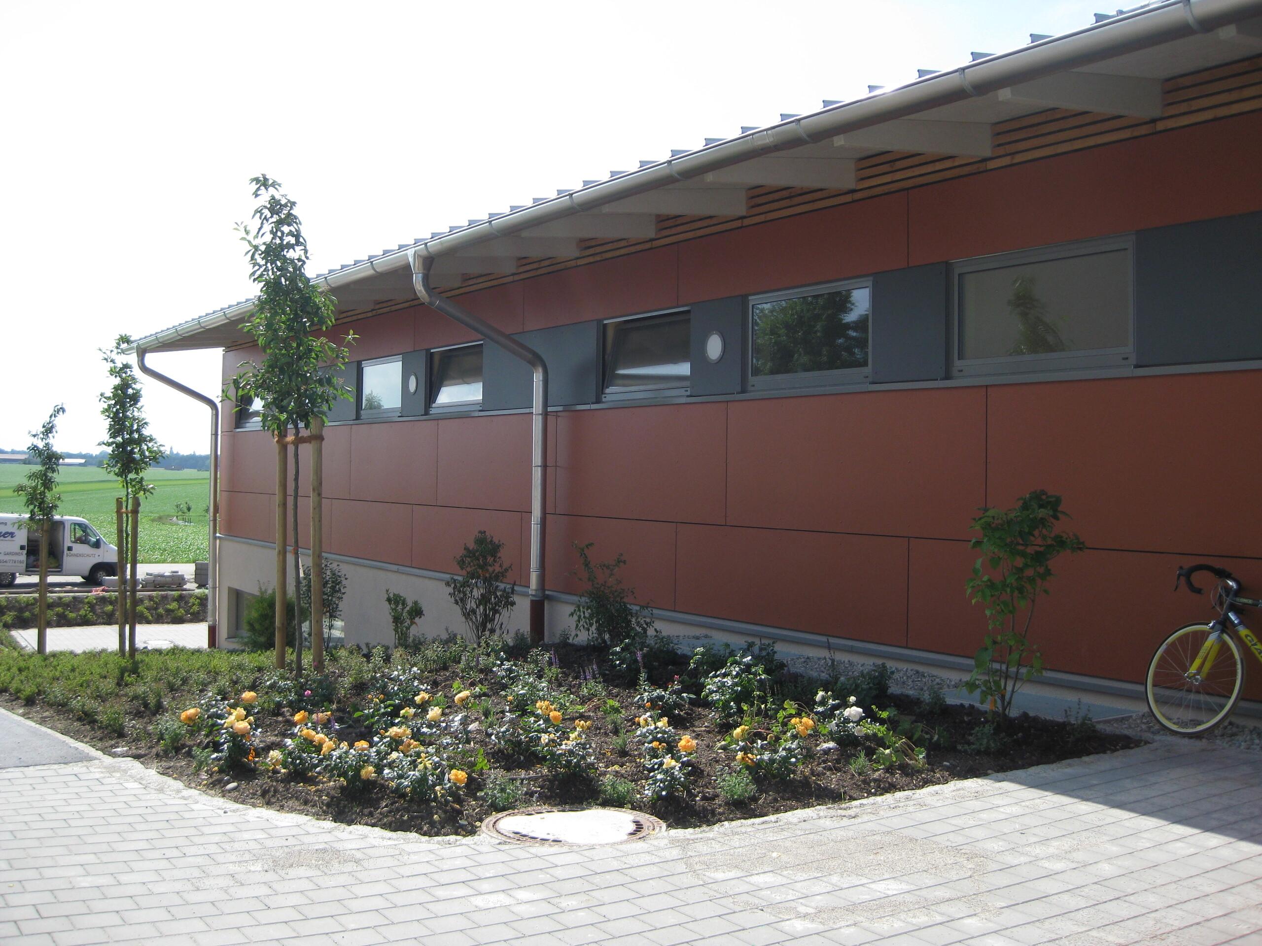 Bild der 2 1-2-Fach Schulturnhalle